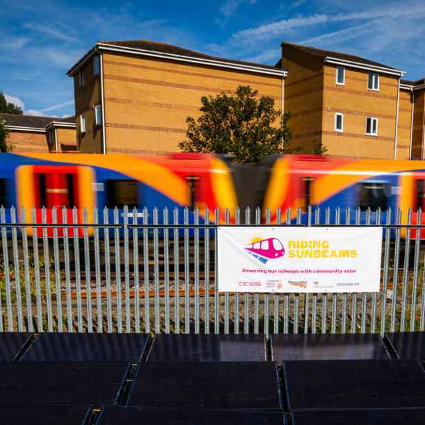 Community-owned solar-powered railways – on track for net zero