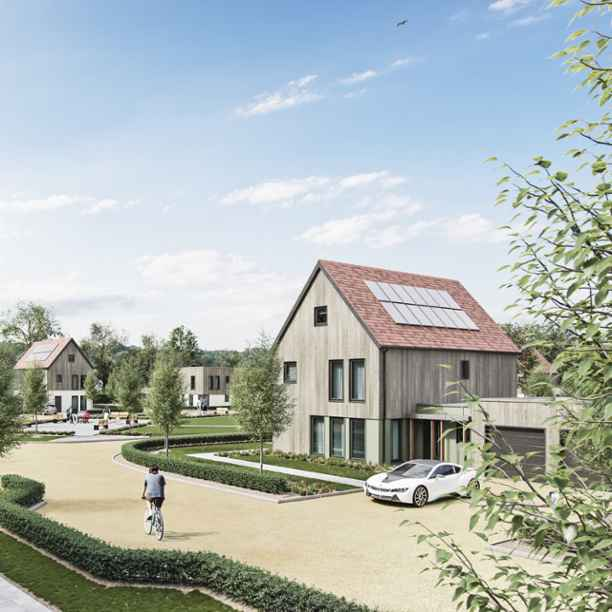 A model for carbon-neutral living