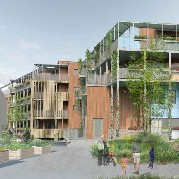 Building for the future: London's largest self-build community housing project