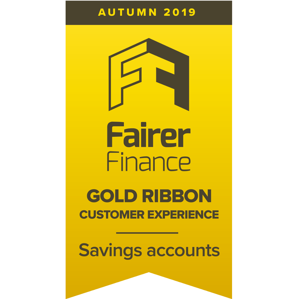 fairer finance gold ribbon customer experience savings accounts autumn 2019