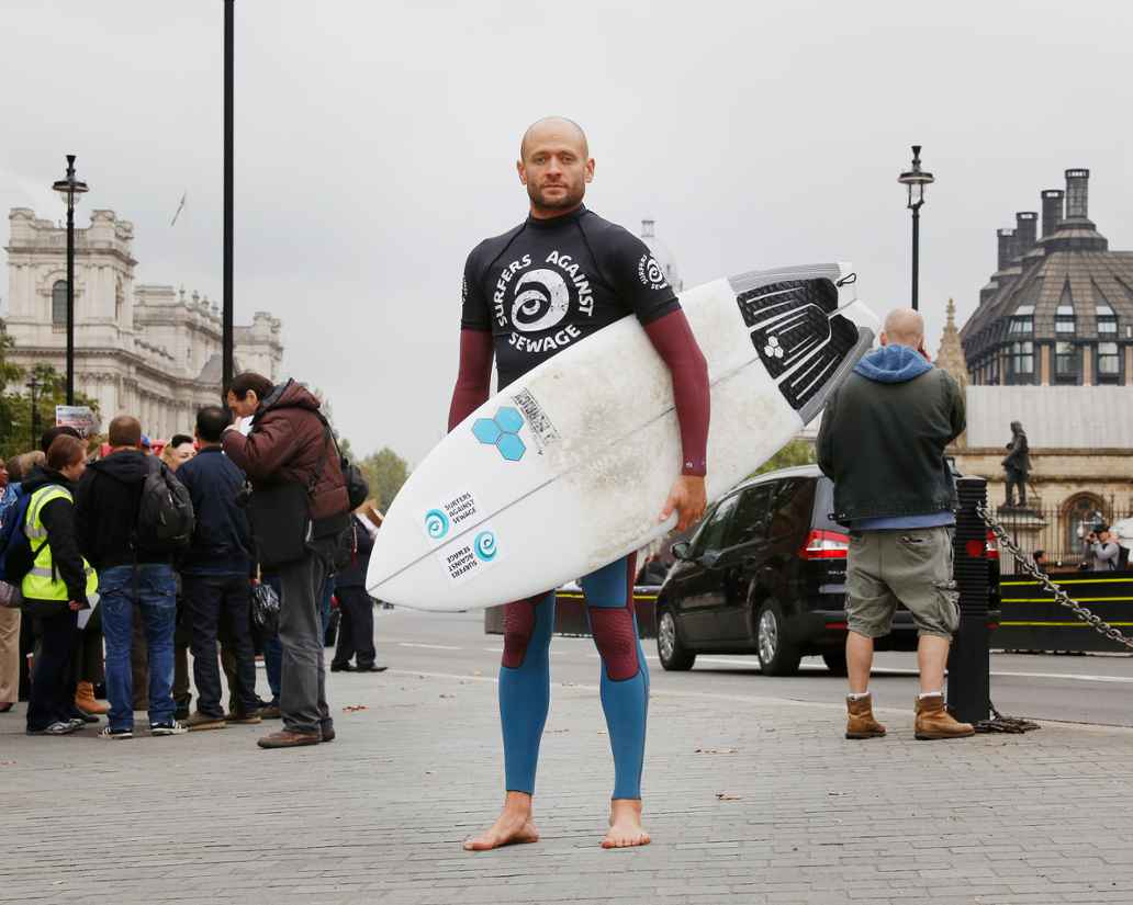 Hugo Tagholm, chief executive of Surfers Against Sewage. Image copyright Andy Hughes
