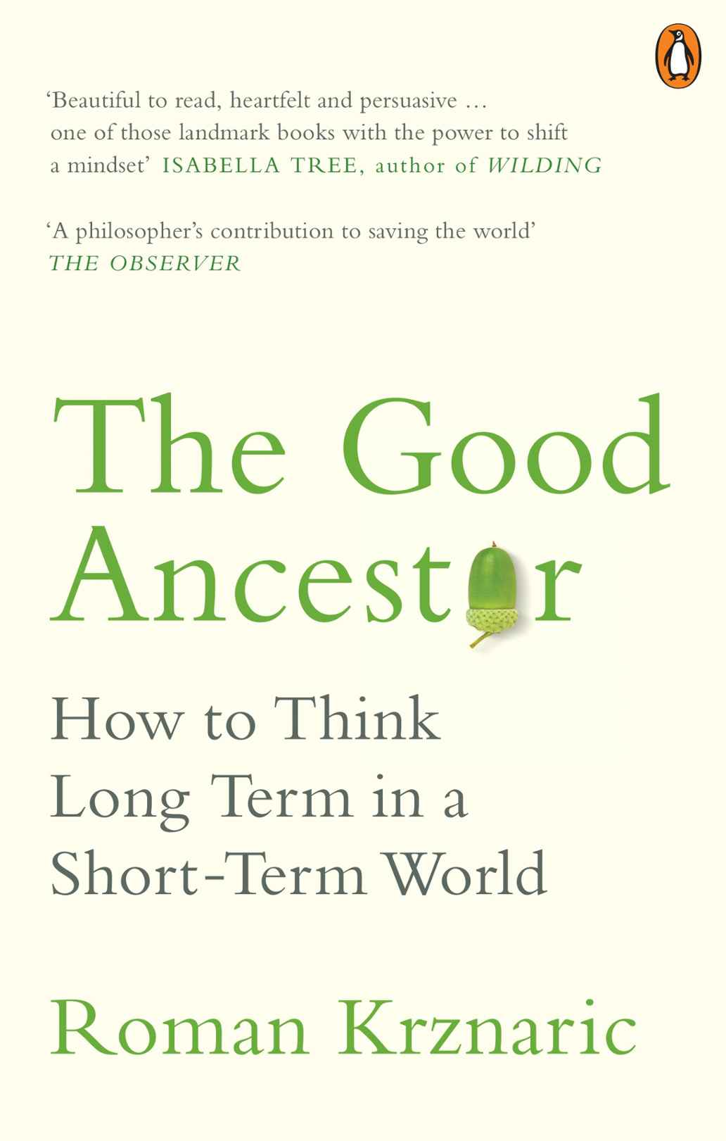Front cover image of The Good Ancestor book
