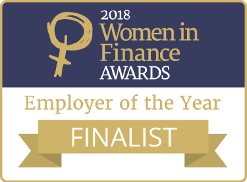 2018 Women in finance awards - Finalist